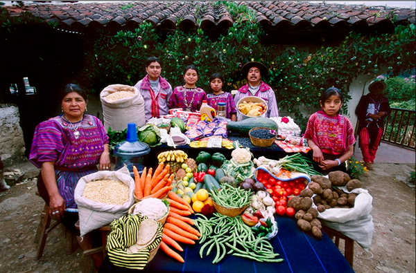 GUATEMALA - TODOS SANTOS The Mendozas family spends around $76 per week.