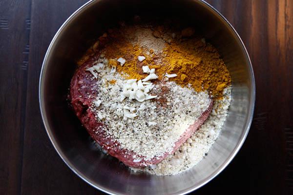 Polpette al Curry con Riso Basmati