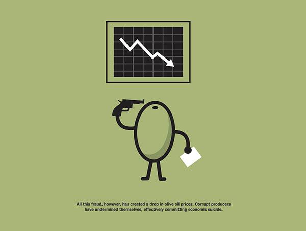 calo prezzi olio di oliva