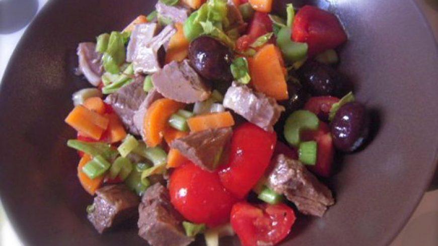 Ricette Estive: Insalata di Manzo Bollito
