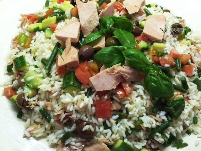 Deliziosa Insalata di Riso con Mix di Verdure