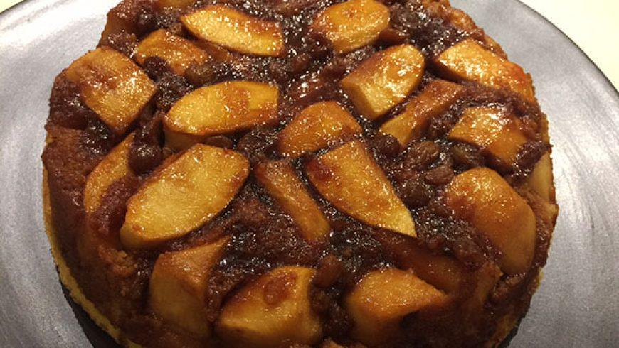 Torta Rovesciata di Mele al Caramello