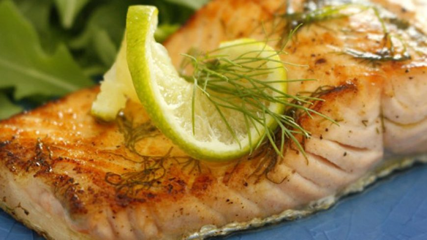 Salmone Marinato e Grigliato