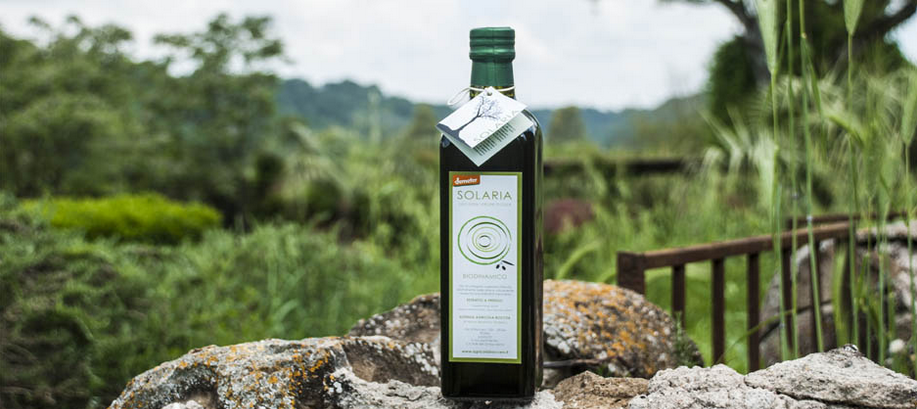 agricola boccea agricoltura bio olio evo biodinamico solaria roma