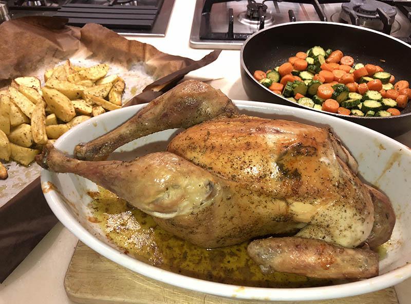 azienda agricola boccea pollo arrosto 3