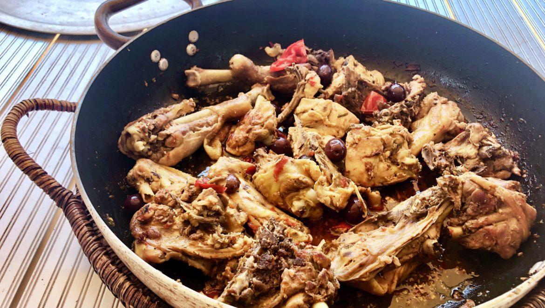 Pollo Ruspante Spezzato in Tegame