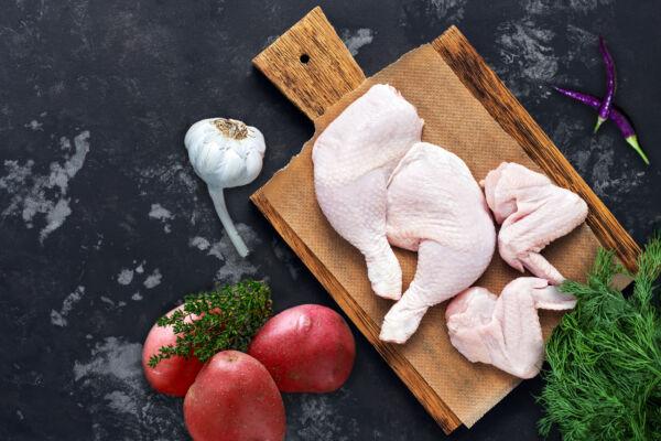 pollo sezionato biologico